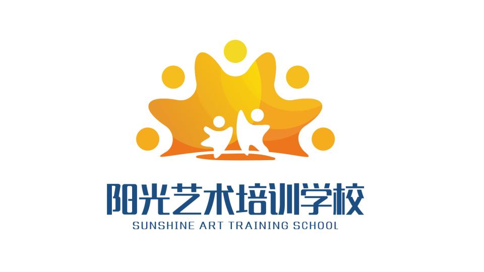 阳光艺术培训学校LOGO设计