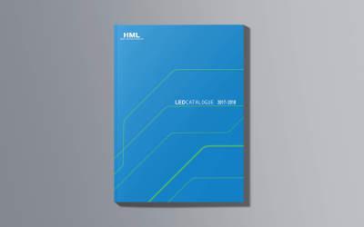 豪迈照明(hml)英文版产品画册设计