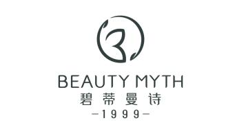 碧蒂曼诗化妆品牌LOGO设计