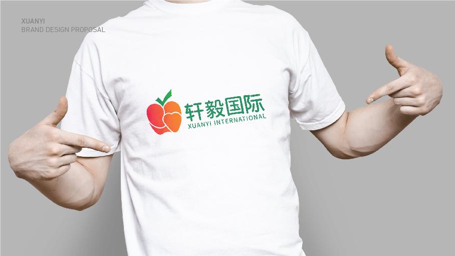 轩毅国际水果销售品牌LOGO乐天堂fun88备用网站中标图3