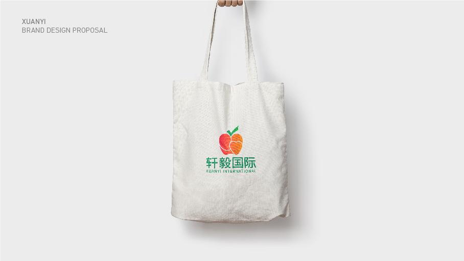 轩毅国际水果销售品牌LOGO乐天堂fun88备用网站中标图4