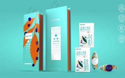 睛彩世界 飲料包裝設計