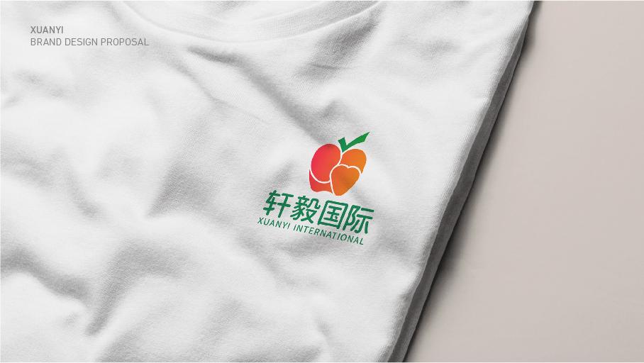 轩毅国际水果销售品牌LOGO乐天堂fun88备用网站中标图5