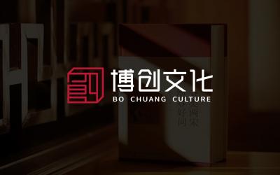 博创文化文化传媒公司LOGO设...