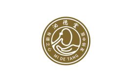 泌德堂logo设计
