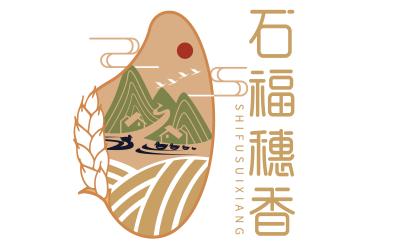 标志设计丨石福穗香LOGO设计