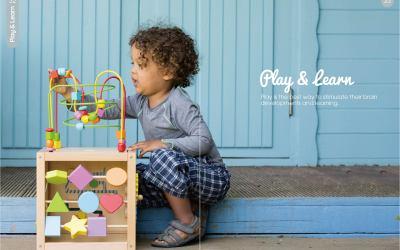 儿童玩具样本册设计