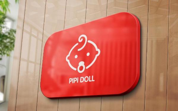 皮皮娃娃-母婴连锁品牌logo设计
