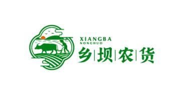 乡坝农货品牌LOGO必赢体育官方app