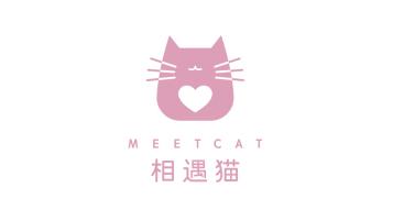 相遇貓婚戀服務公司LOGO設計