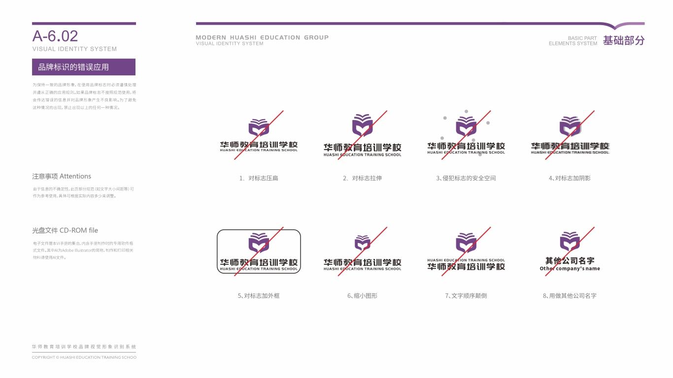 华师教育品牌VI乐天堂fun88备用网站中标图33
