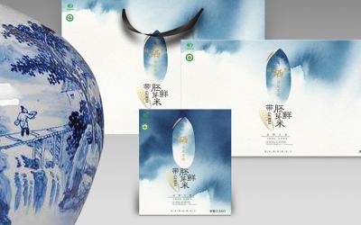 贵州北稻胚芽米品牌包装设计