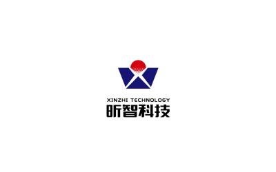 南通昕智科技logo设计