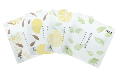 花果茶手繪包裝設計