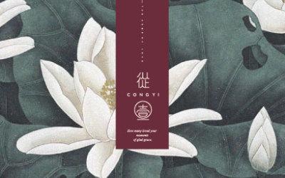 從一新中式旗袍整體品牌形象設計