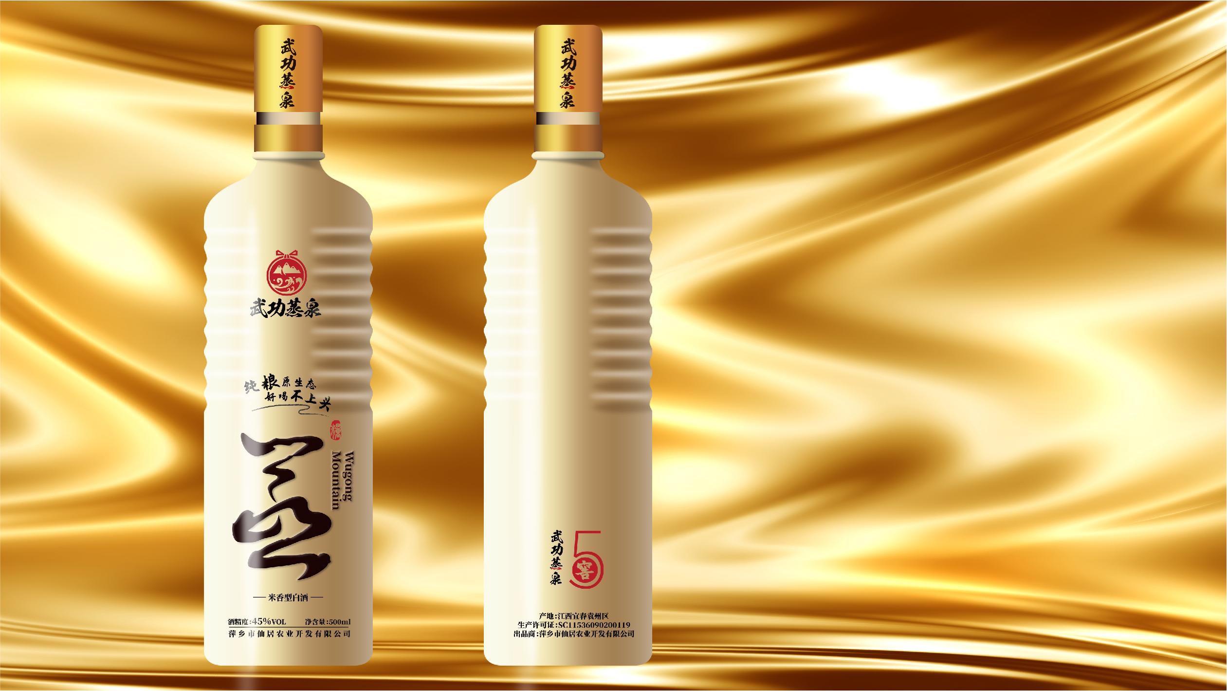 武功蒸泉酒品牌包裝設計