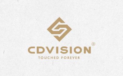 CD视觉logo设计