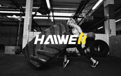 海威尔健身整体品牌形象设计