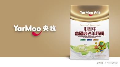 央牧中老年富硒高钙羊奶粉包装必赢体育官方app