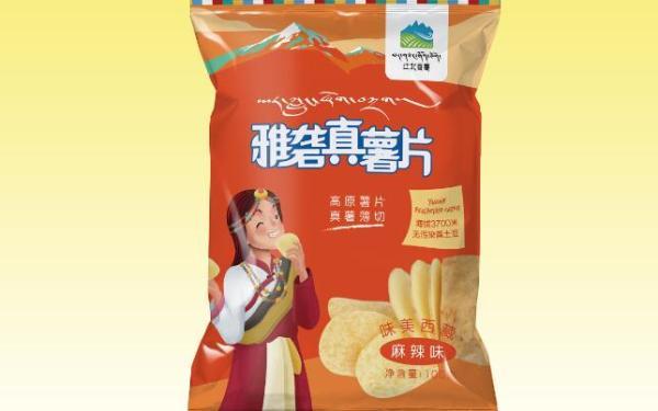 雅砻薯片包装设计