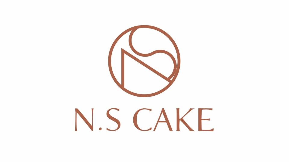 N.S Cake蛋糕店LOGO设计