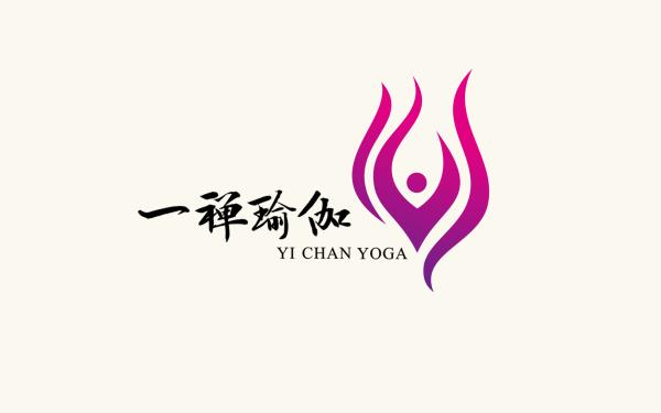 一禅瑜伽logo设计