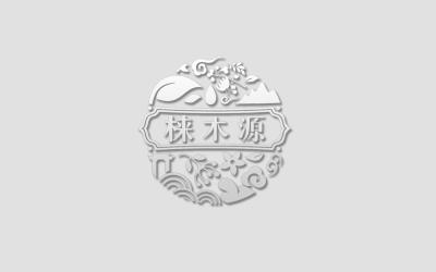 梾木源高端香水logo設計及包...