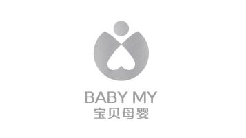 寶貝母嬰品牌LOGO設計