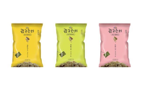海苔脆脆乐零食包装设计
