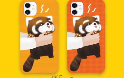 原创手机壳-小熊猫