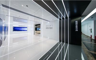 电子科技公司展厅展示设计