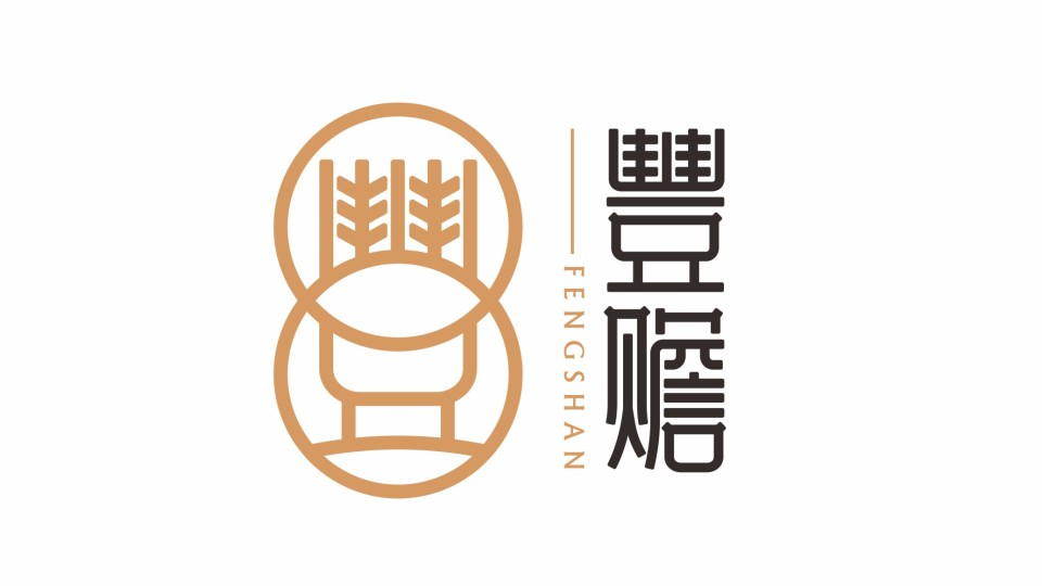 豊赡保健食品品牌LOGO设计