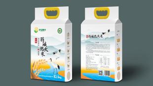 中农煦丰大米品牌包装设计
