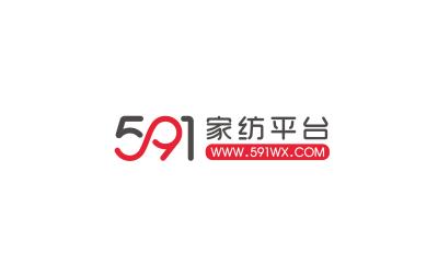 591家纺平台logo设计