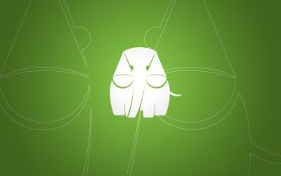 绿象律师事务所logo设计