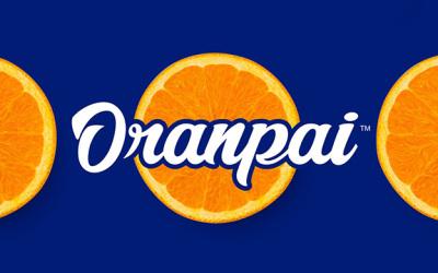 鮮橙派水果口味消費品牌設計