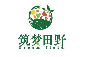 筑梦田野logo品牌设计