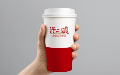 許二娘麻辣燙 logo
