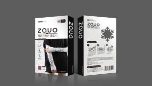 zauo瘦腿襪品牌包裝設計