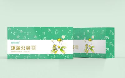 保健品植物饮料包装盒