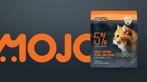MOJO高端寵物糧品牌包裝設計