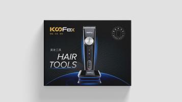 KooEex电子美发工具品牌包装设计