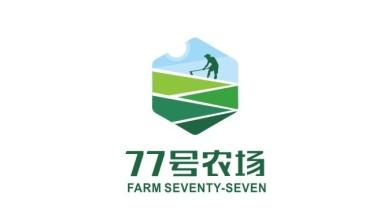 77号农场品牌LOGO设计