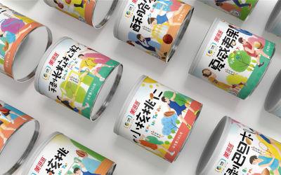 美滋滋干果包裝設計