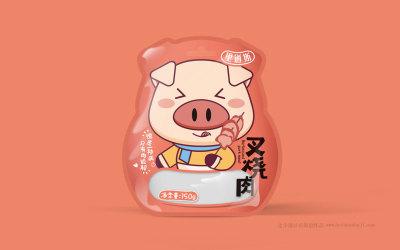 秋林里道斯q肠萌趣食品包装设计