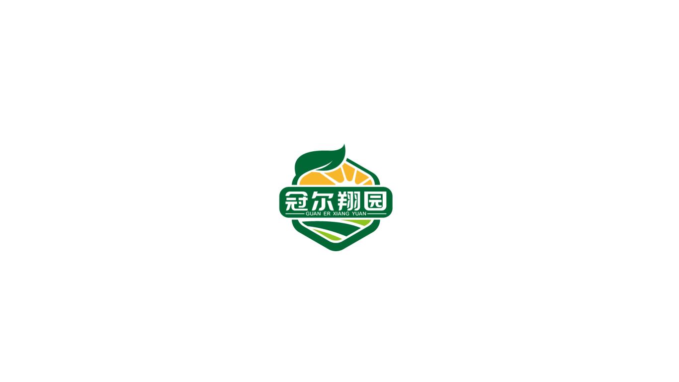 冠爾翔園品牌LOGO設計中標圖0