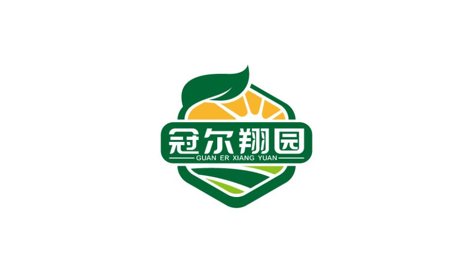 冠爾翔園品牌LOGO設計