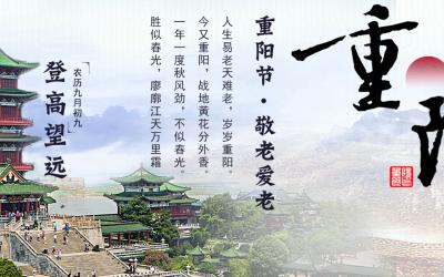 江西南昌滕王阁banner设计