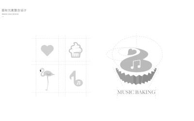 music baking VI設計