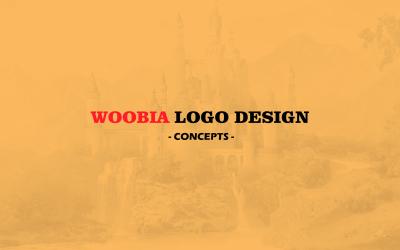 Woobia品牌Logo设计
